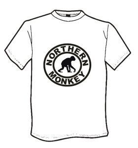 MENS NORTHERN MONKEY T-SHIRT (001)